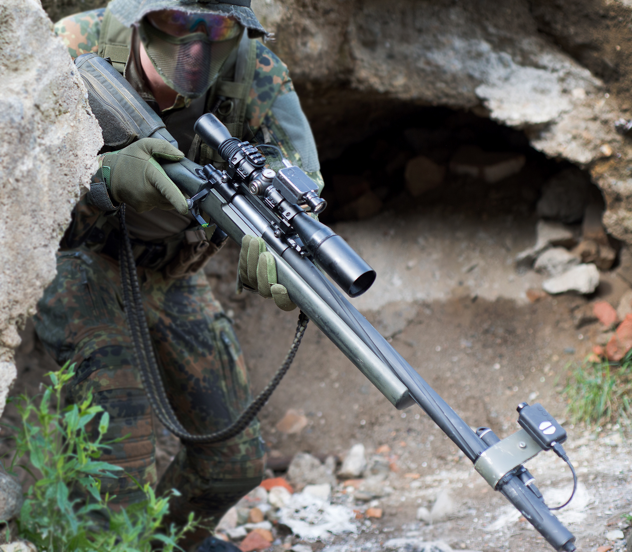 Airsoft Guns Danmark ssg24 (silo's sniper rifle) - silo entertainment